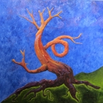 Dancing Arbutus Tree - Energy Series